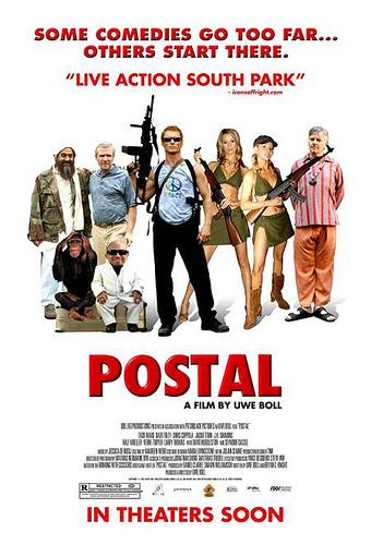 Póster americano de Postal de Uwe Boll